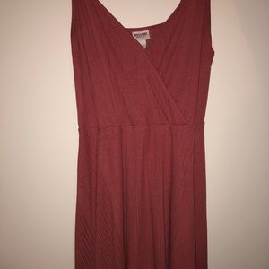 Cute ribbed summer dress!